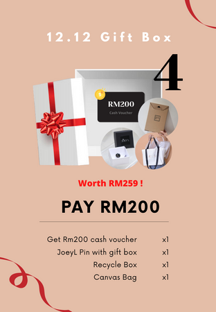 [PRE-ORDER] X'mas Gift Box-Worth RM259