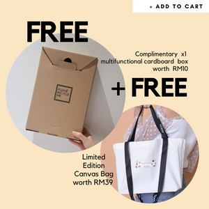 FREE BOX + Limited Edition Canvas Bag