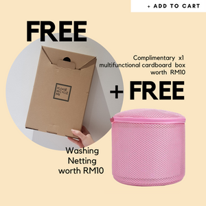 FREE BOX + Washing Netting