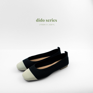 Dido Round Toe Flat in Black