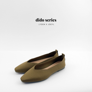 Dido Pointed Toe Flat in Coffee