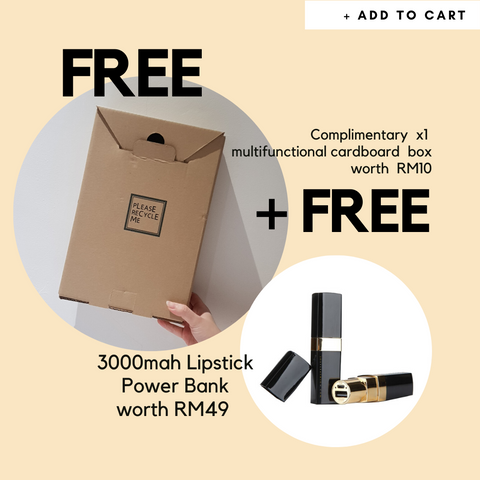 FREE BOX + Lipstick Power Bank