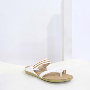 Straps Sandal in White