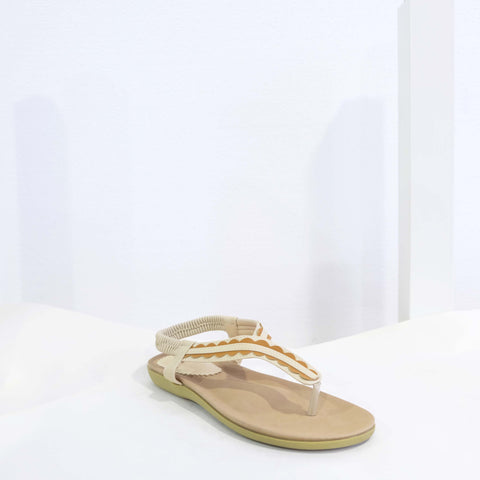 Classic Sandals in Beige