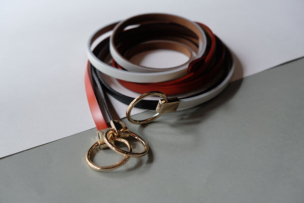 Ladies Ribbon Tier Belt