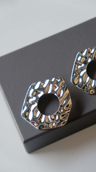 Joeyl Earings in Silver