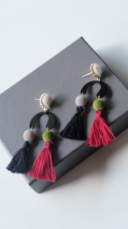 Joeyl Earings in White