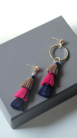 Joeyl Earings in Pink
