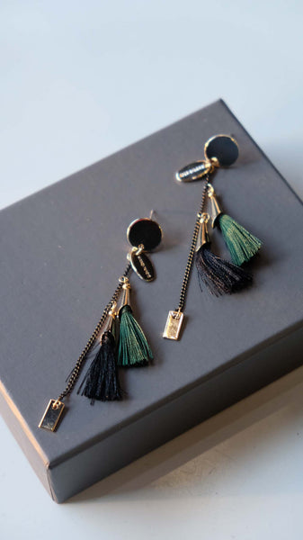 Joeyl Earings in Green