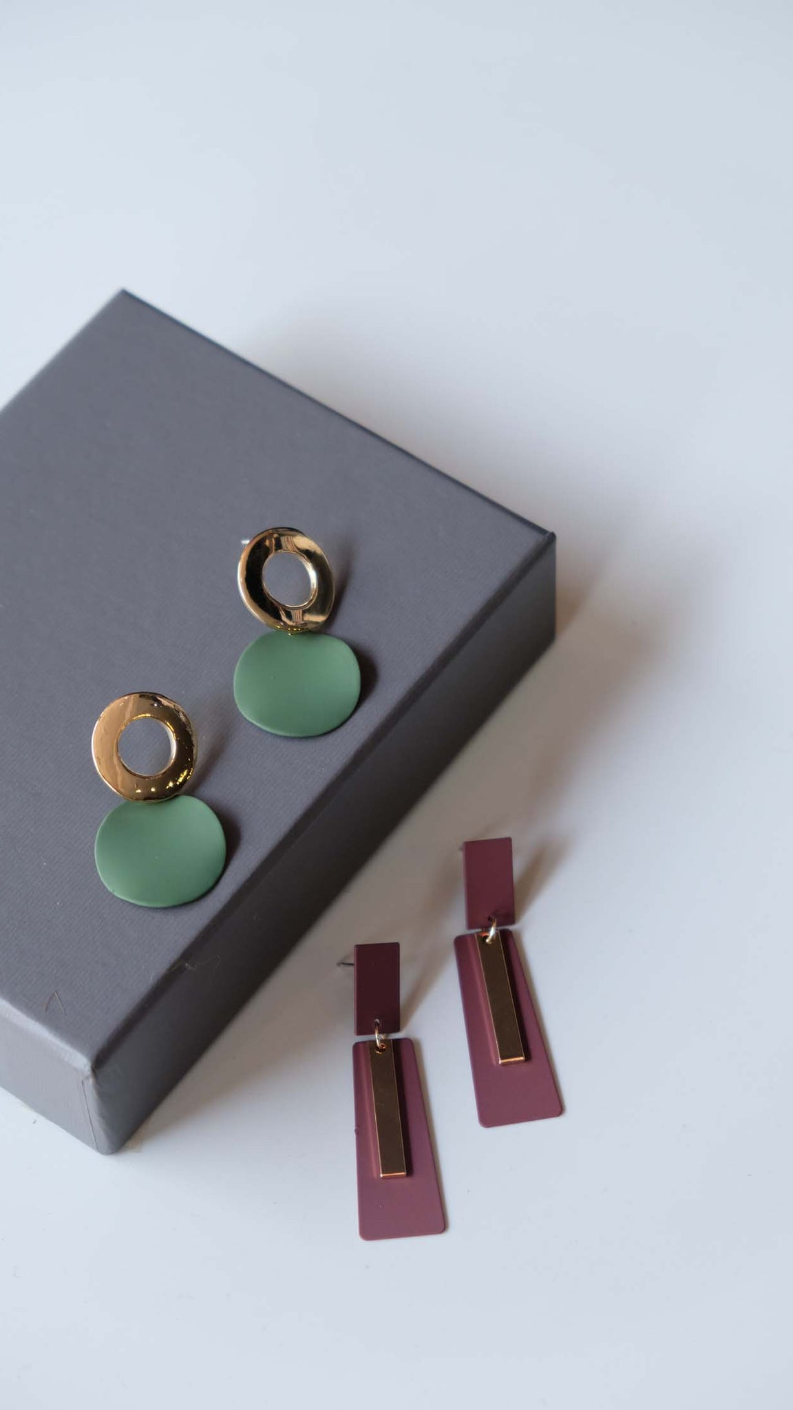 Joeyl Earing set in Green