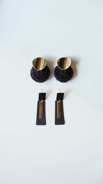 Joeyl Earing set in Black