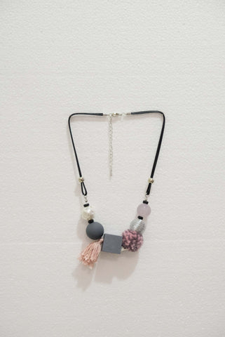Joeyl Necklaces in Pink