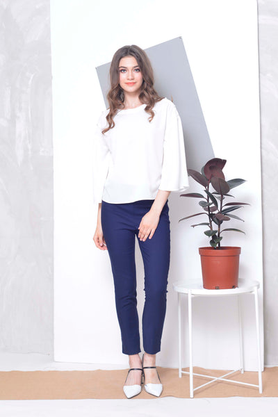 CASUAL- Belka Casual Pants in Navy
