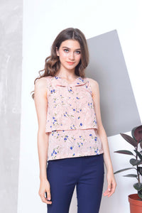 Basics-Chara Top in Pink