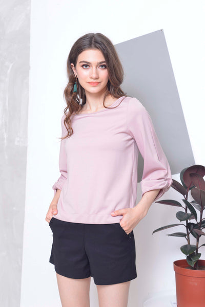 Basics-Ariel Top in Pink