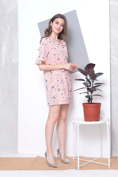 Basics -Faure Dress in Pink