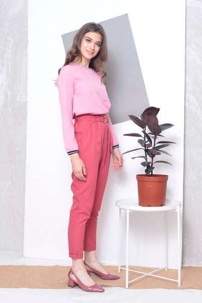 Collections-Arina Top in Pink