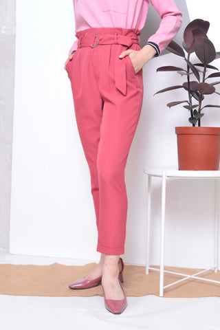 Basics-Davin Pants in Pink