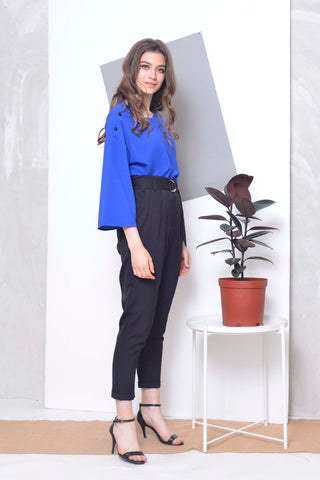 Casual -Kalina Top in Blue