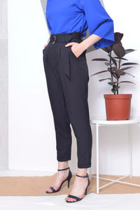Basics-Davin Pants in Black