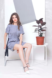 Basics-Calice Dress in Grey