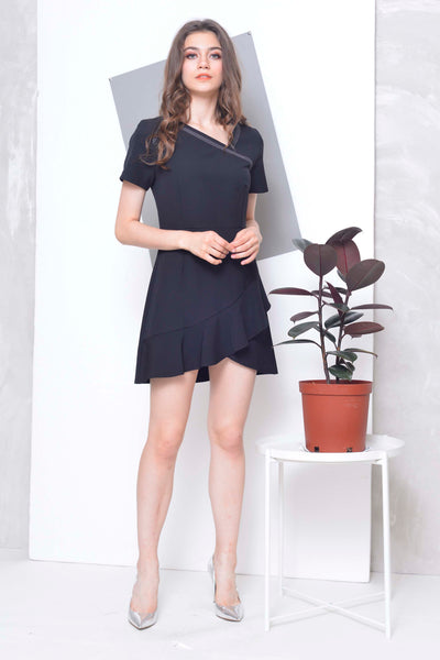 Collections-Oliver Dress in Black