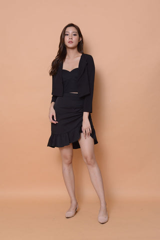 Collection- Daily suit coat in black