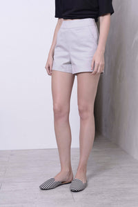 BASICS-Laure shorts in Grey