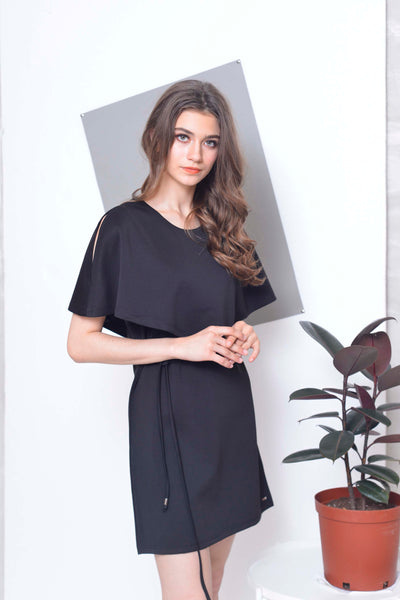 Collections-Kalle Dress in Black