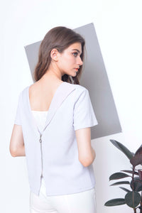 Collections-Nichol Top in Grey