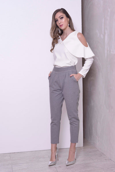 COLLECTIONS-Aden Pants in Grey