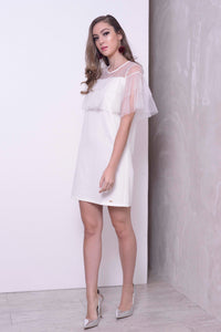 COLLECTIONS-Sara Dress in White