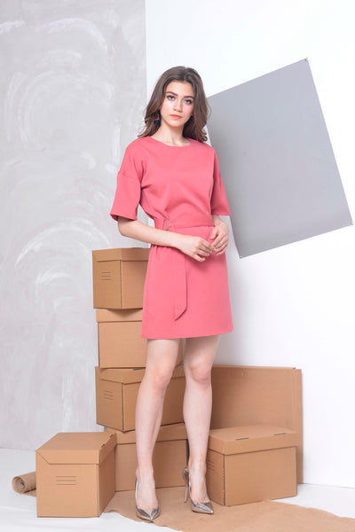 Basics-Aster Dress in Pink