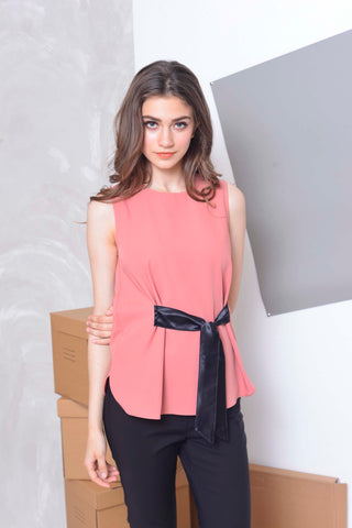 Basics-Issa Top in Pink