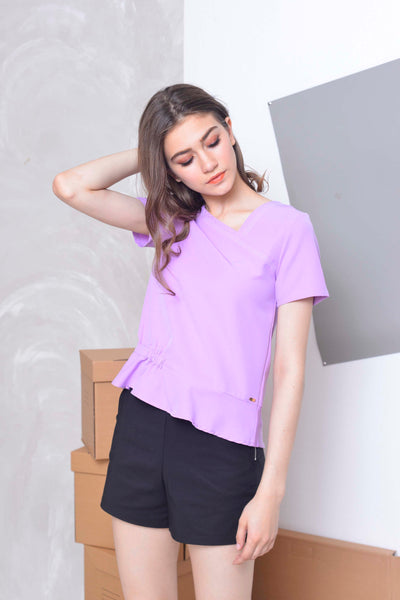 Collections-Oliver Top in Puple