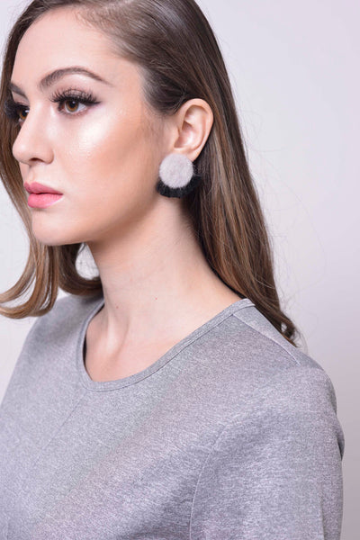 Joeyl Earing set in Grey