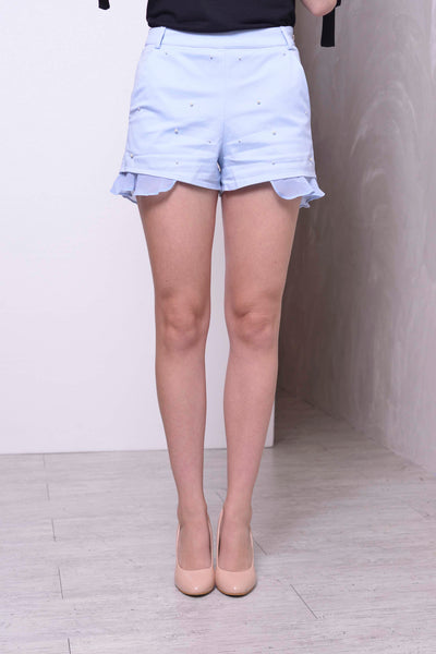 Calla Shorts in Light Blue