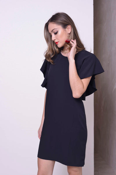 CASUAL-Kaiya Dress in Navy