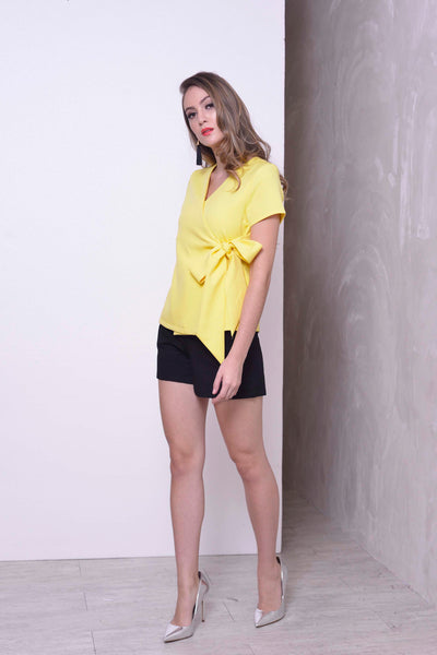 COLLECTIONS-Berskha Top in Yellow