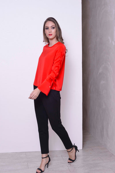 COLLECTIONS-Fenya Top in Red