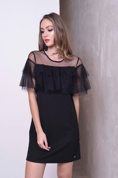COLLECTIONS-Sara Dress in Black