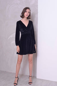 COLLECTIONS-Valentino Dress in Black