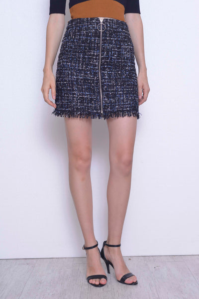 COLLECTIONS-Kendra Skirt in in Blue