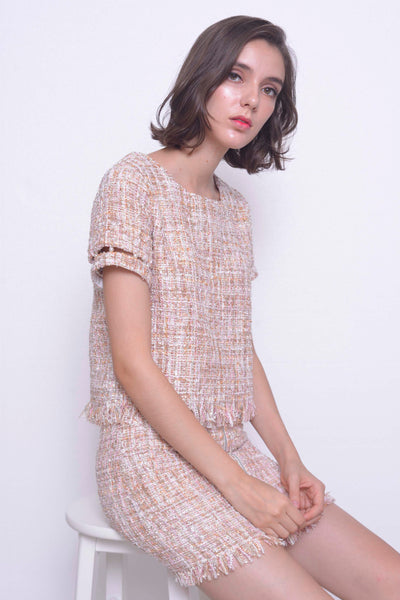 COLLECTIONS-Elena Blouse in Pink