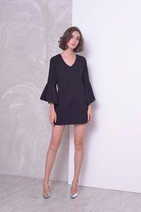 BASICS- Layla Dress in Black