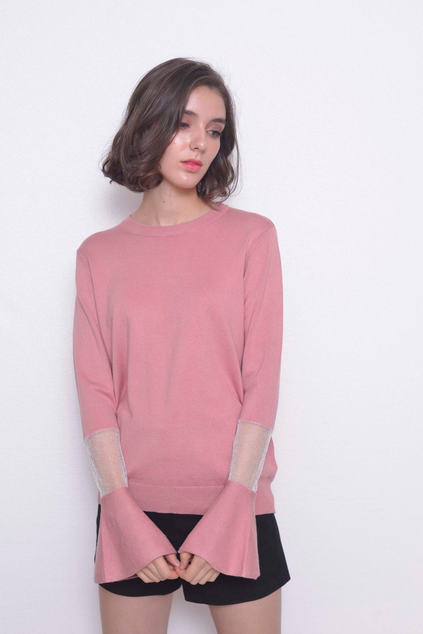 KNIT-Nelia Top in Pink