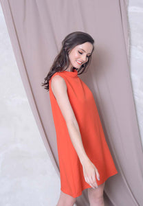 Collection - Joeyl Logo Dress in Red
