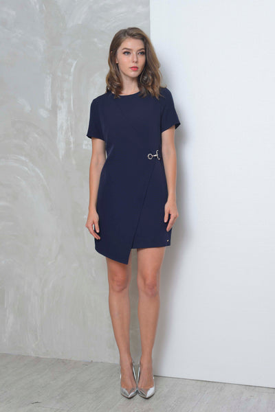 Collections-Dior Dress in Navy