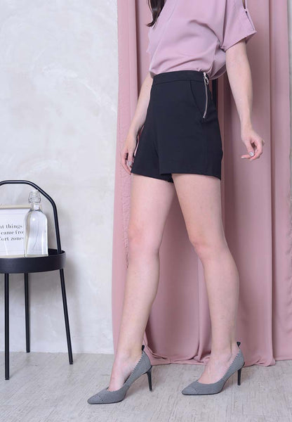 Casual – Stretchable Shorts in Black