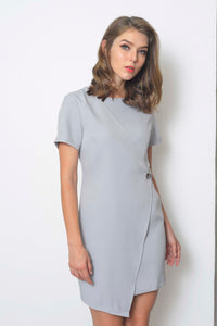 Collections-Dior Dress in Grey